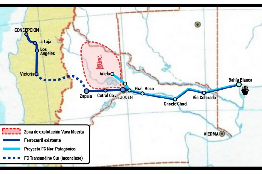 "Argentina: Vaca Muerta already has its own ""Patagonian Panama Canal"""