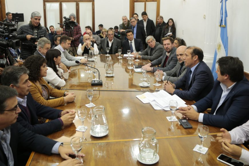 Gutierrez signed the concession for the management of Zapala Free Trade Zone