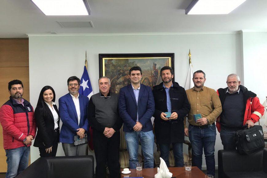 Intendente del Bio Bio sostiene encuentro con representantes de Zona Franca de Zapala
